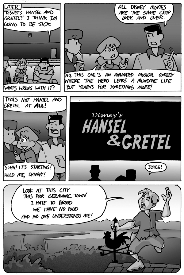 Disney's Hansel and Gretel, page 3