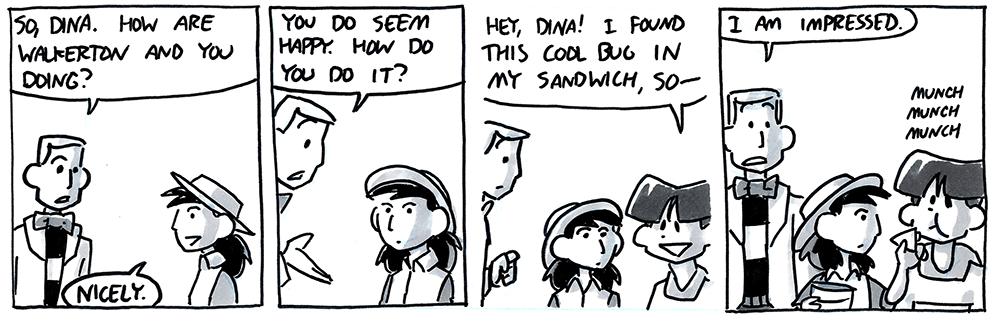 So, Dina.