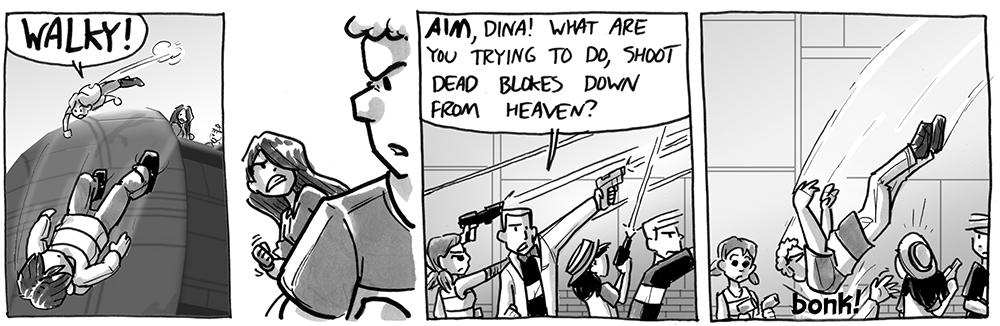 Aim, Dina!