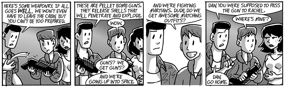 Pellet bomb guns