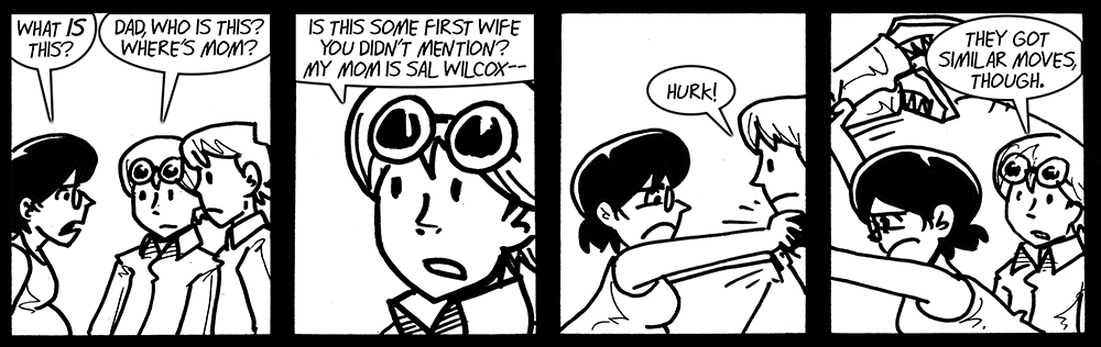 Is this some first wife you didn't mention?